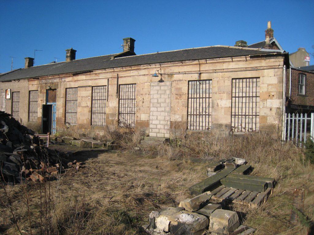 Platform Building Before Restoration, Burntisland
