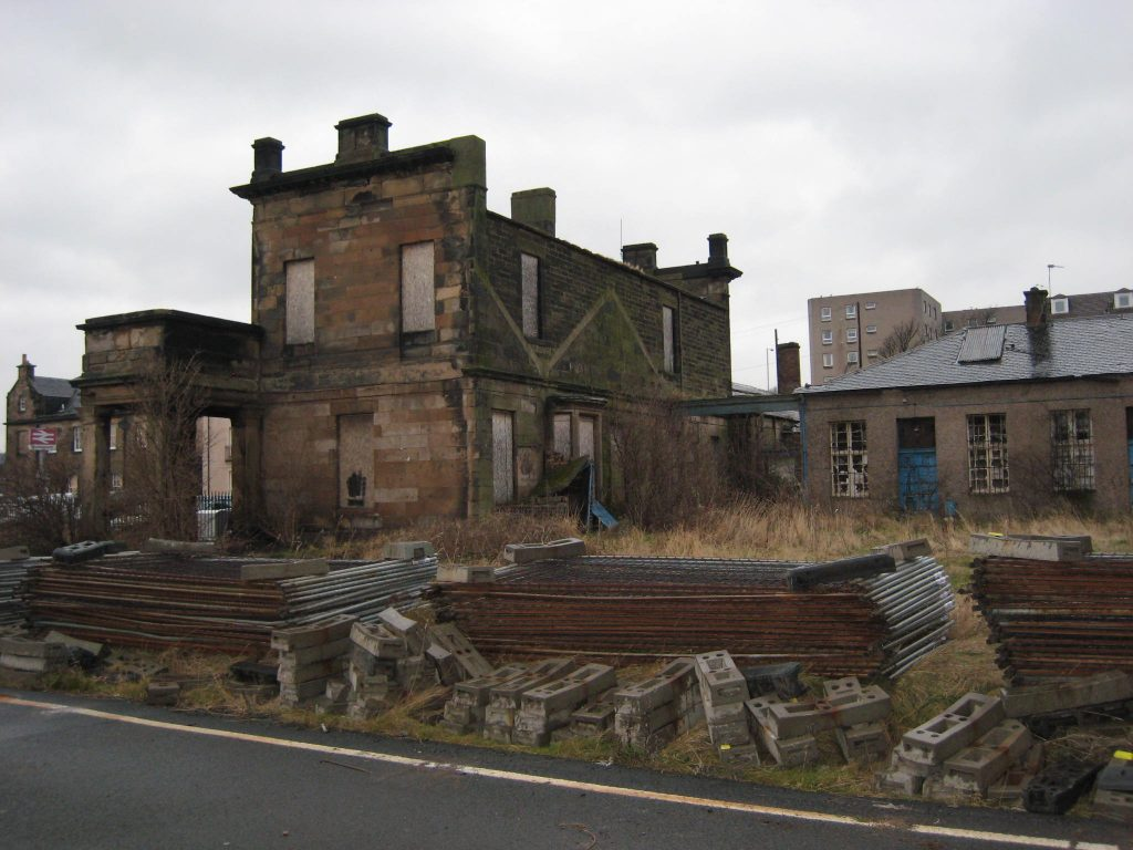 Station House Before Restoration, Burntisland