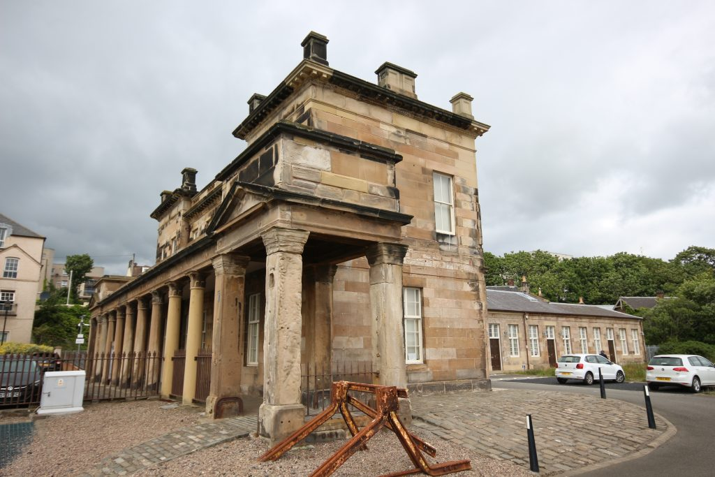 Station House After Restoration, Burntisland