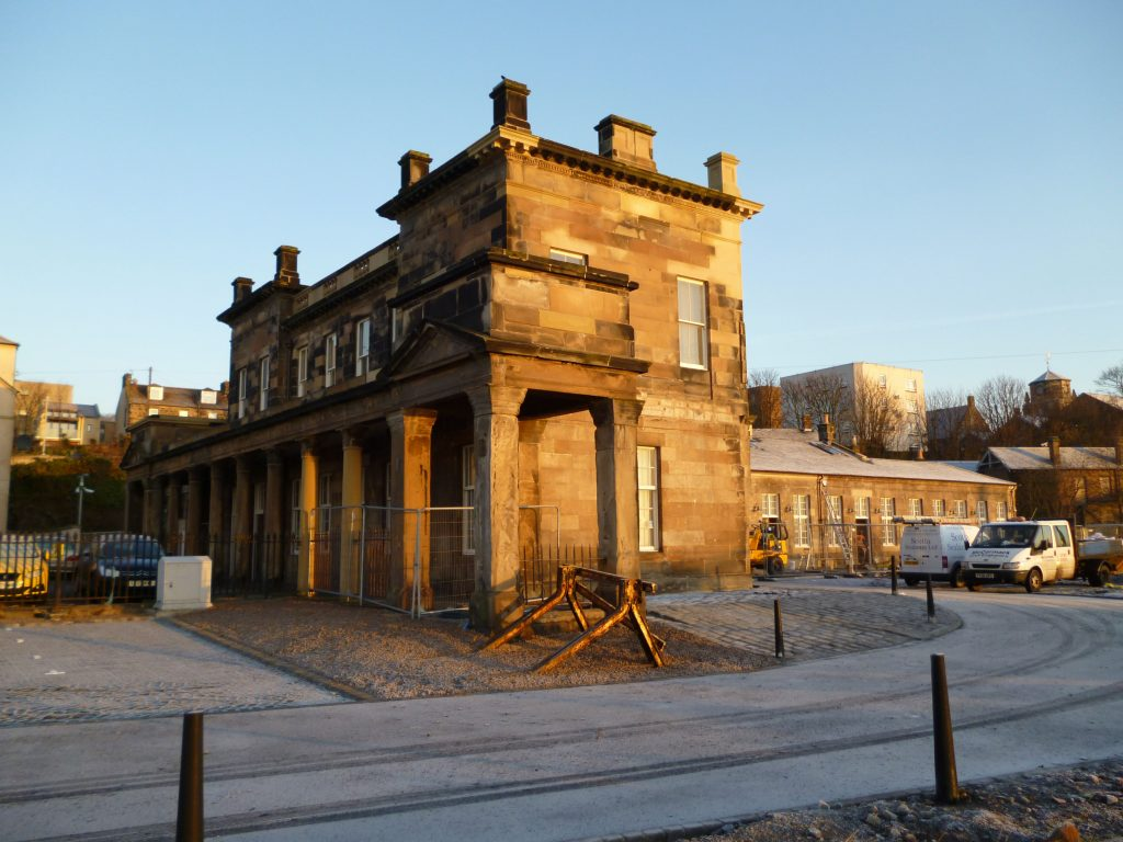 Station House During Restoration, Burntisland