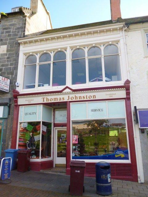 Dunfermline High Street After Restoration