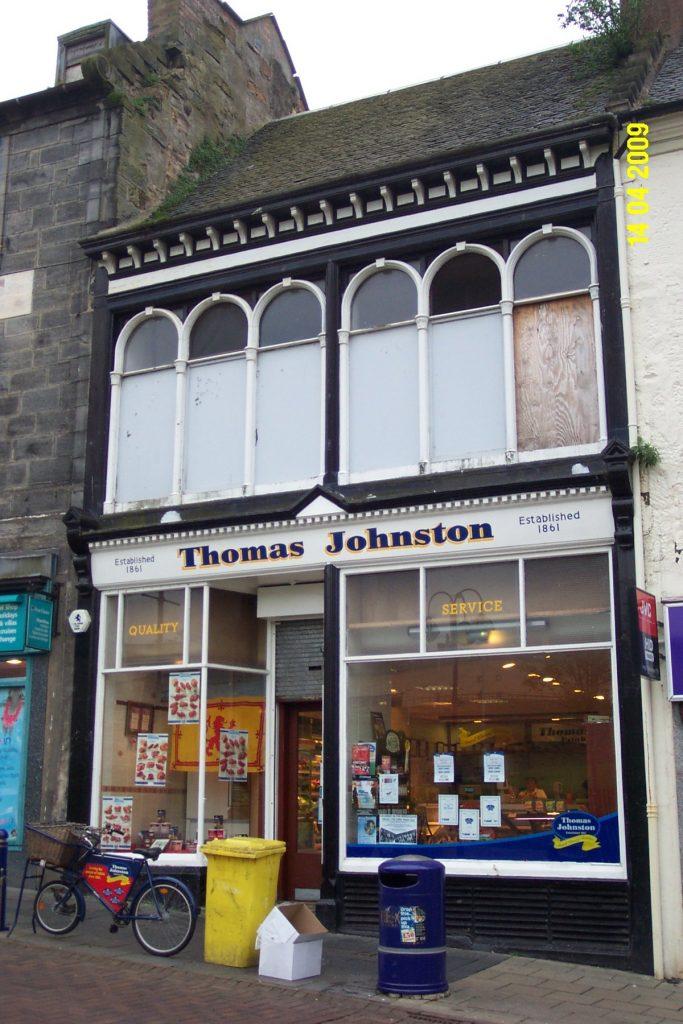 Dunfermline High Street Before Restoration