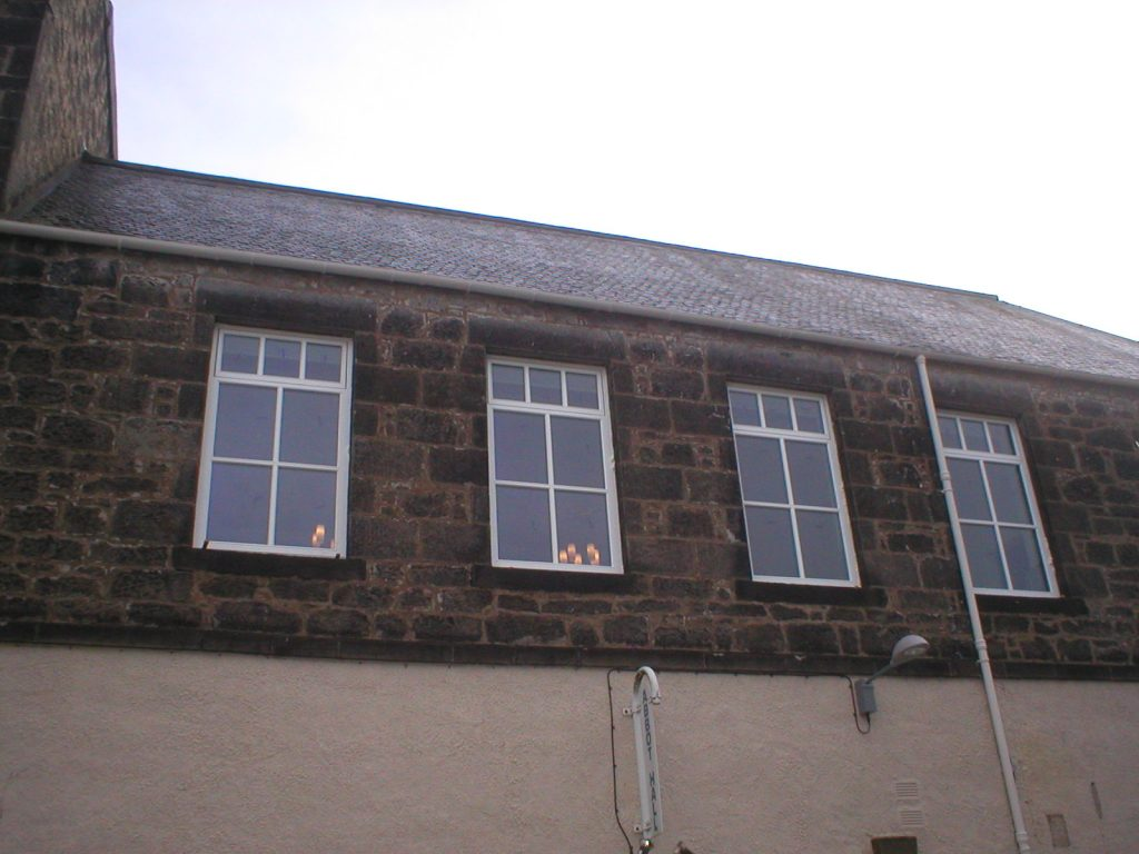 Abbot Hall Window Restoration After