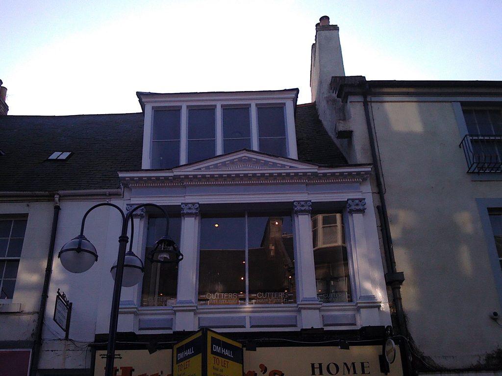 Dunfermline High St Cutters After windows