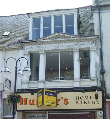 Dunfermline High St Cutters Before windows