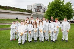 Inverkeithing-High-School-traditional-skills-event-at-the-Scottish-Parliament