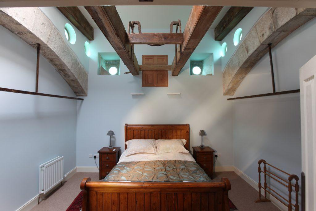 Kinghorn Town Hall Bedroom After Restoration