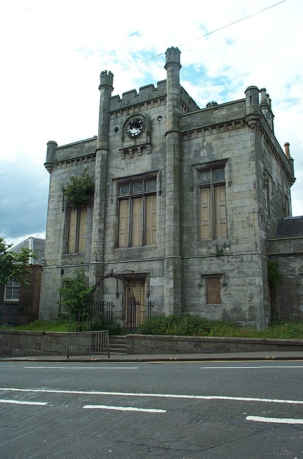 Kinghorn Town Hall Front Before Renovation