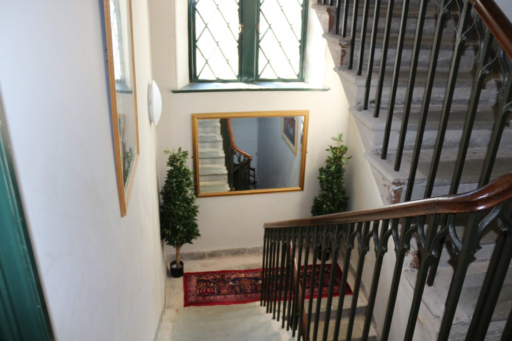 Kinghorn Town Hall Staircase After Restoration