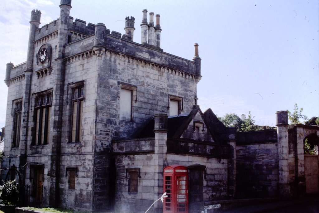 Kinghorn Town Hall Side Before Renovation