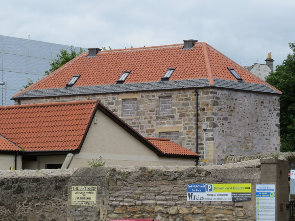 Adam Smith Close - After Restoration, Kirkcaldy