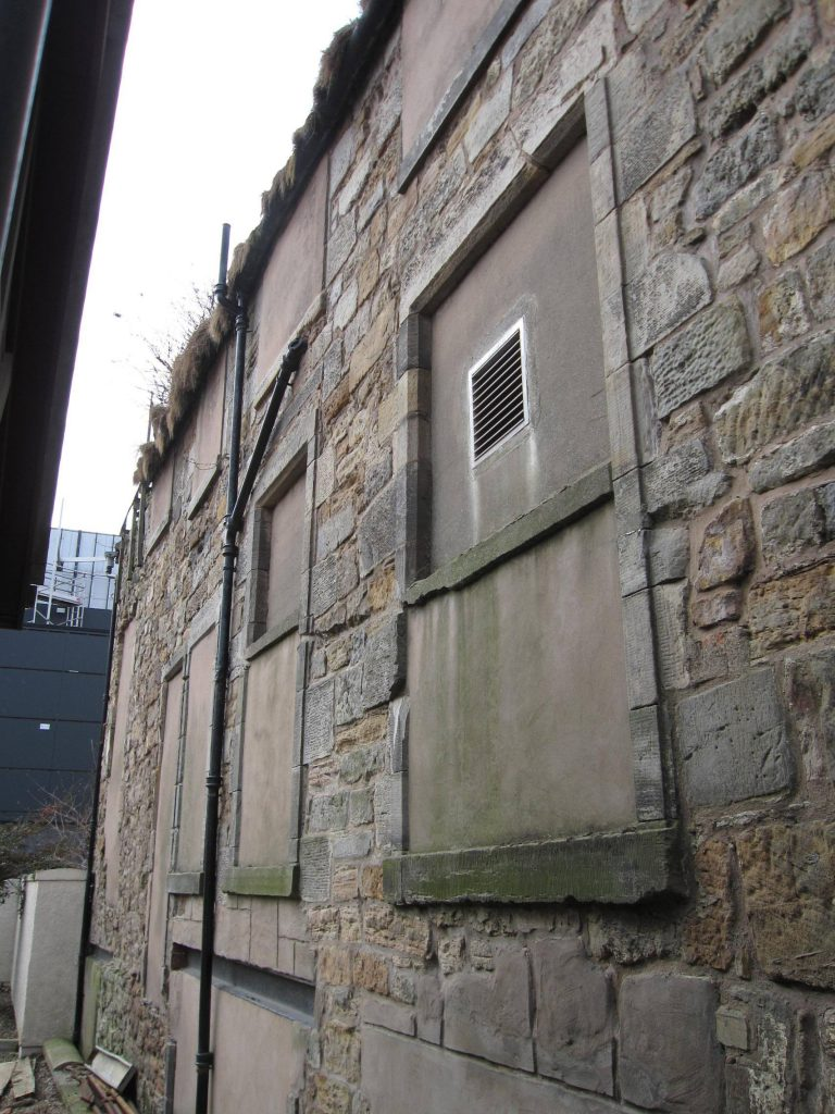 Adam Smith Close - Before Restoration, Kirkcaldy