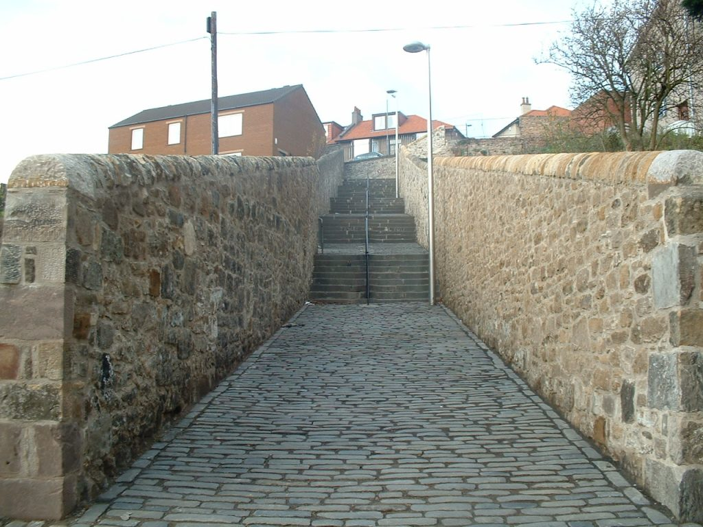 Malcolms Wynd, Kirkcaldy Completed