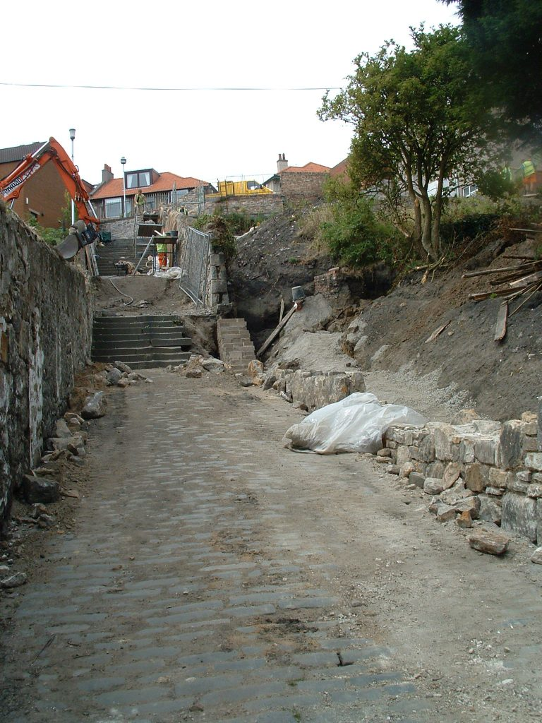 Malcolms Wynd, Kirkcaldy During Restoration