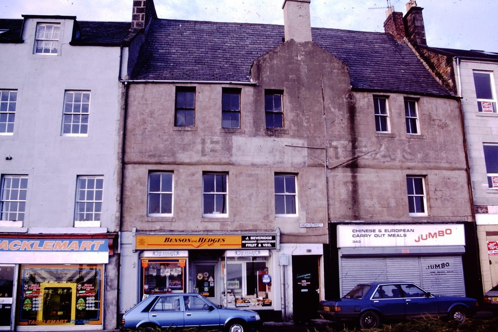 Merchant's House, Kirkcaldy Before