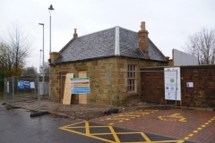 Lairds Waiting Room - During Restoration, Ladybank