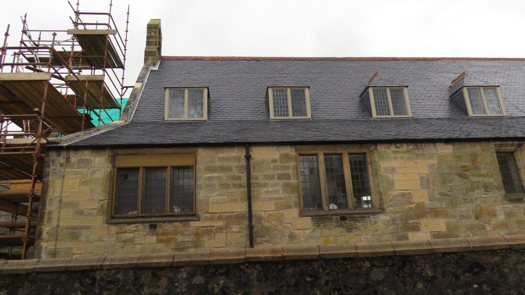 St Andrews Church During Restoration, Lochgelly