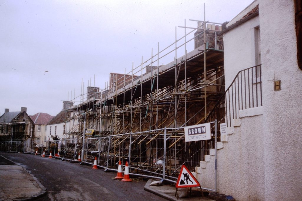 West Wemyss During Restoration